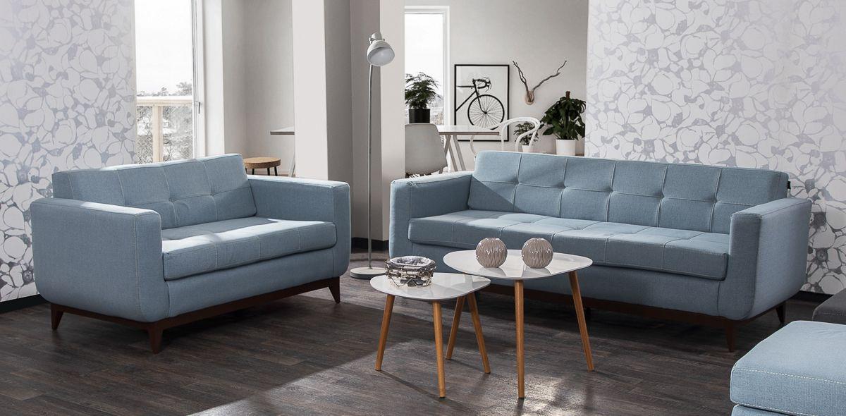 Sofá Azul Claro Finley